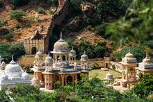 Royal Gaitor In Jaipur India Landscape View