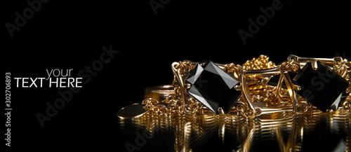 Carta da parati Jewelry  with the copy space