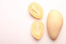 Melon Pear And Mango