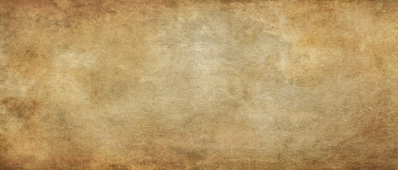 Old paper texture.Long panoramic format background.