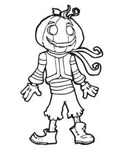 Vector Halloween Part Game Ill...