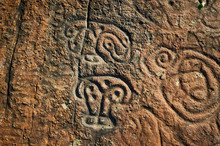Rock Paintings Of Ancient Civi...