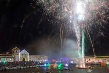 December Fireworks Festival In Villa De Leyva, Colombia