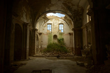 Abandoned Church Of Craco, Gho...
