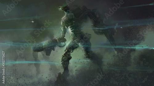 Robot Wars Poster Mural XXL