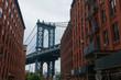 Manhattan Bridge day time landscape