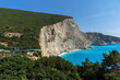 Panorama of Porto Katsiki Beach, Lefkada, Greece