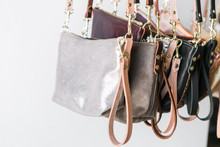 Bunch Of Small Leather Purses ...