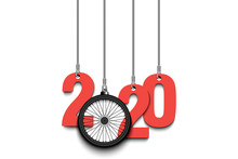 2020 New Year And Bicycle Whee...