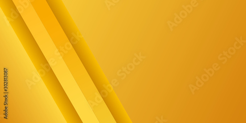 Fototapety, obrazy: Abstract modern gradient colorful yellow background