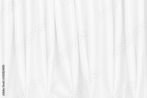 Fotomural  White silk satin background smooth texture background