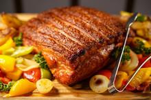 Honey Glazed Pork Leg
