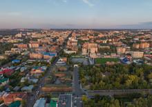 Aerial View Of Tomsk City, Fru...