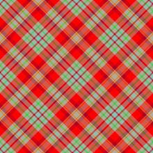Tartan Plaid Scottish Seamles...