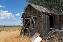 Rustic Old Abandoned Barn