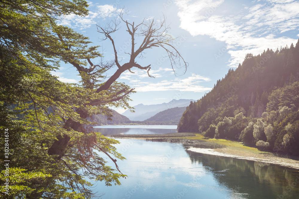 Fototapety, obrazy: Lake in Patagonia