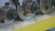 Spiral Corrugated Duct Machine Close-up