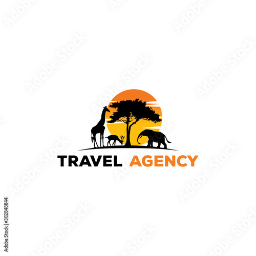 Photo safari traveling