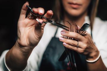 Šišanje kose u kozmetičkom salonu