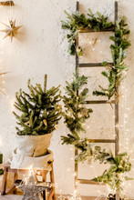 Christmas, New Year Decor With...