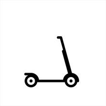 Kick Scooter - Vector Icon Kic...