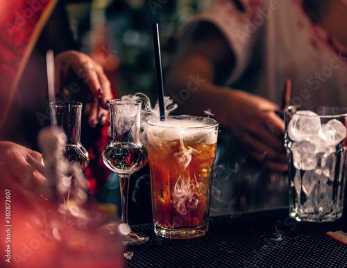 Halloween festive drink #302872607