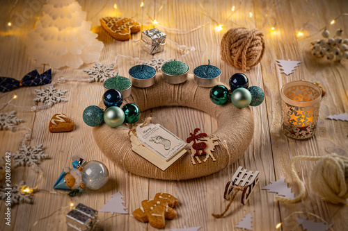 Advent wreath and accessories #302872642