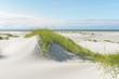 canvas print picture Breiter Strand an der Nordsee