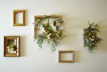 Flower Arrangement With Photo ...