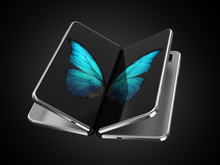 Concept Of Two Foldable Smartp...