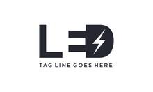 LED Light For Logo Design Conc...