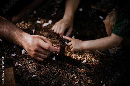 Fototapeta  Wiejski krajobraz, dziecko