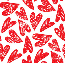 Cute Hand Drawn Doodle Pattern...
