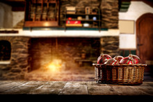 Wood, Fireplace, Holiday, Deco...