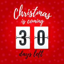 Christmas Is Coming - 30 Days ...