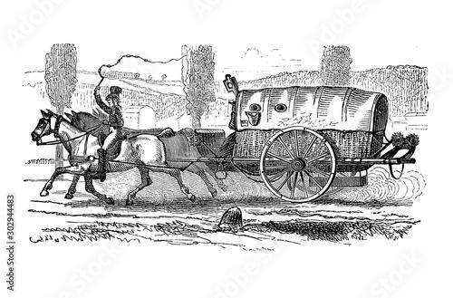 Cuadros en Lienzo France, postal service under Napoleon I