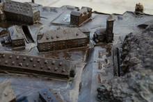 Ein Blindenmodell Der Festung ...