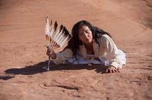 Modern Traditional Navajo Woma...