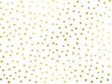 Golden Dots Background