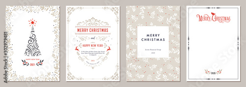 Cuadros en Lienzo  Business and Corporate Holiday Cards.