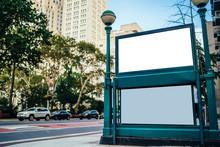 New York City Subway Entrance ...