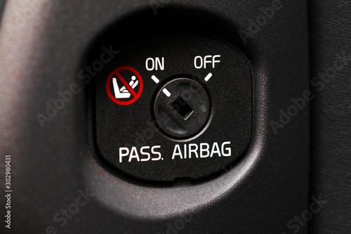 Airbag Canvas Print