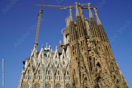 Photo Sagrada familia in Barcelona Spain