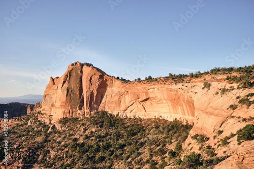 Desert Cliff Wall Landscape