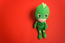 Plush Toy Gekko Pj Mask