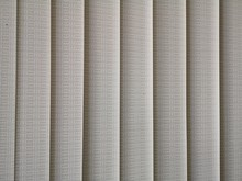 Vertical Plastic Blinds With Small Lighting