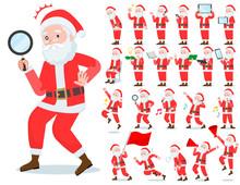 Flat Type Santa Claus_Action