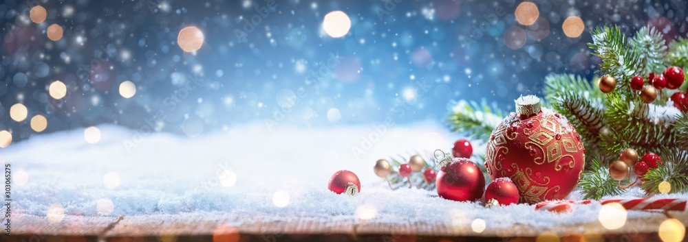 Fototapeta Christmas decoration