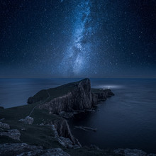 Neist Point Lighthouse At Nigh...