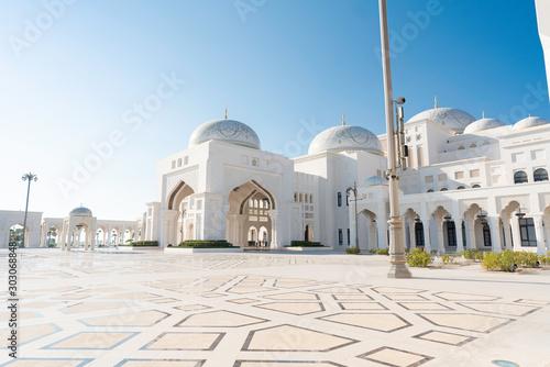Fotografie, Tablou  Abu Dhabi , United Arab Emirates , November , 04 , 2019